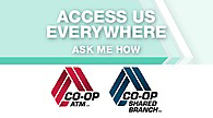 Co-Op ATM Finder/Shared Branch